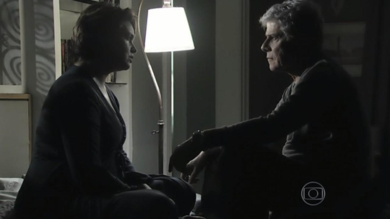 Beatriz e Cláudio em cena da novela Império