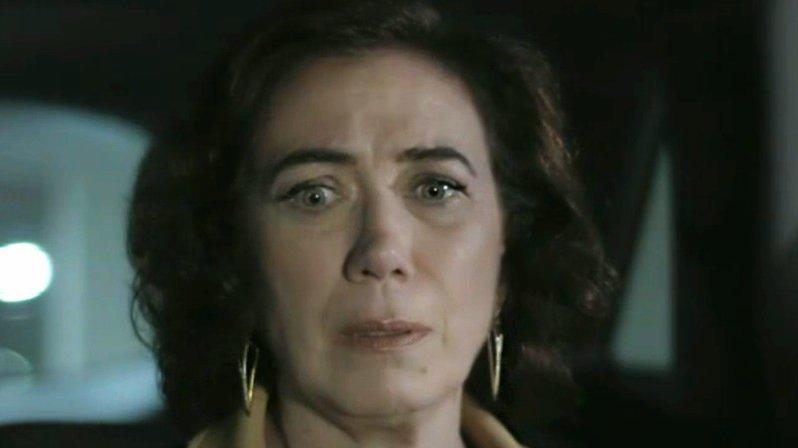 Maria Marta com cara de assustada