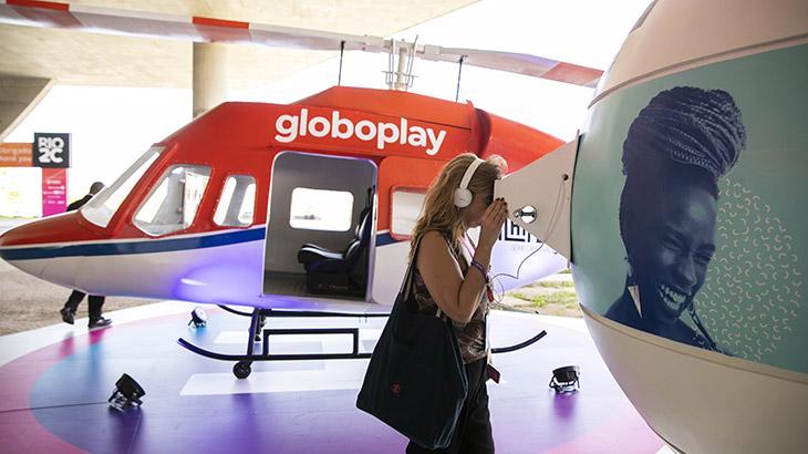Área de experiências imersivas no Espaço Empresas Globo