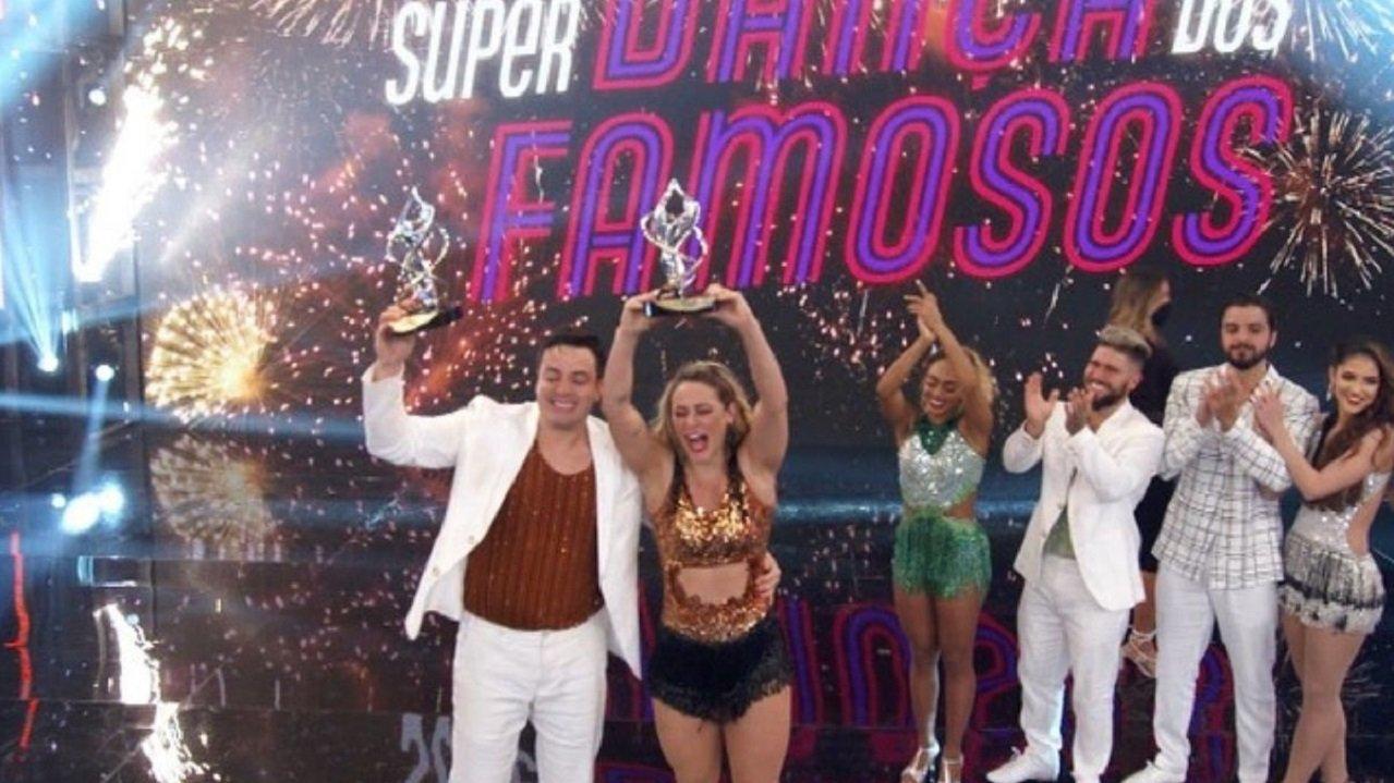 Paolla Oliveira no Super Dança dos Famosos