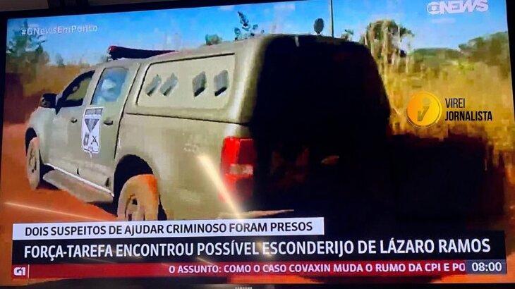 GloboNews comete gafe e confunde matador de Goiás com Lázaro Ramos