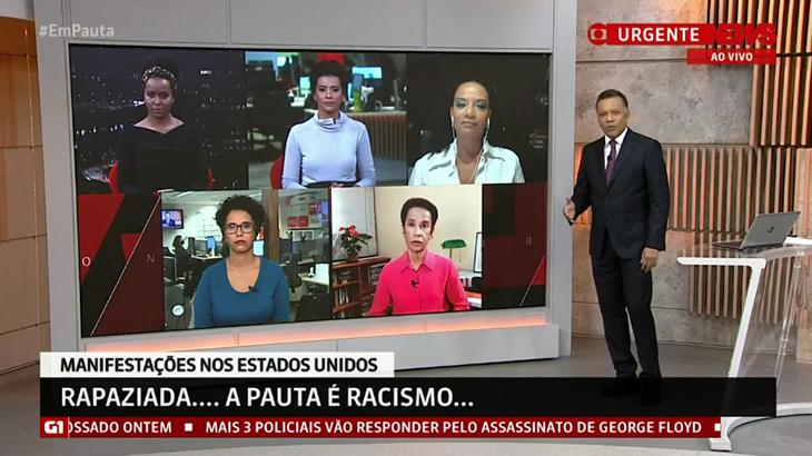 GloboNews escala jornalistas negras para debater racismo