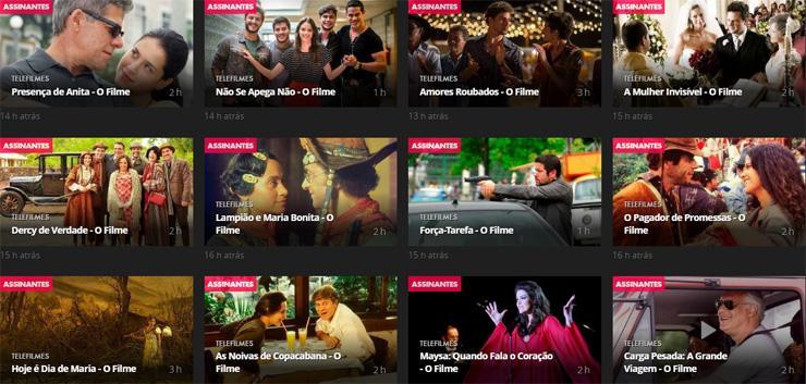 Globo lança séries no formato de filme em sua plataforma on demand
