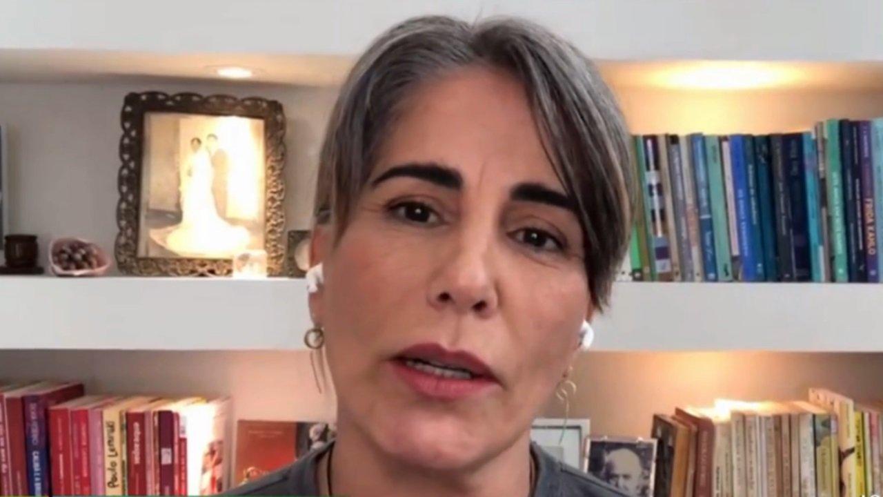 Gloria Pires em entrevista ao É de Casa, na Globo