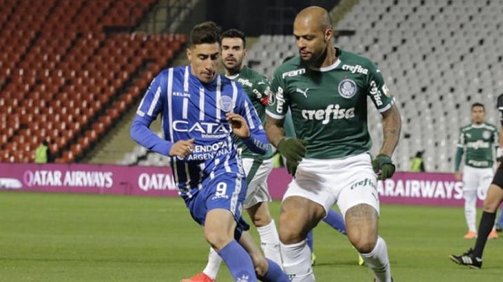 Godoy  Cruz x Palmeiras