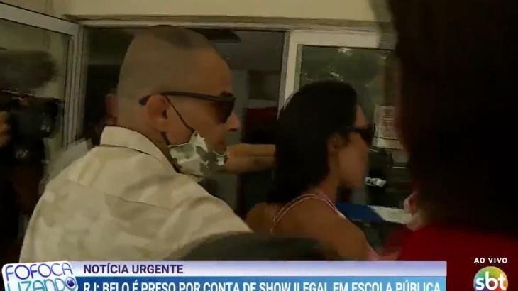 Belo é preso após show de Carnaval no Rio durante a pandemia