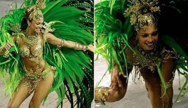 Grazi Massafera, Susana Vieira e Ana Hickmann: As famosas que levaram tombo nos desfiles do Carnaval