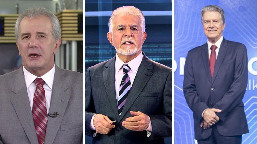 Celso Freitas, Domingos Meirelles e Marcos Hummel