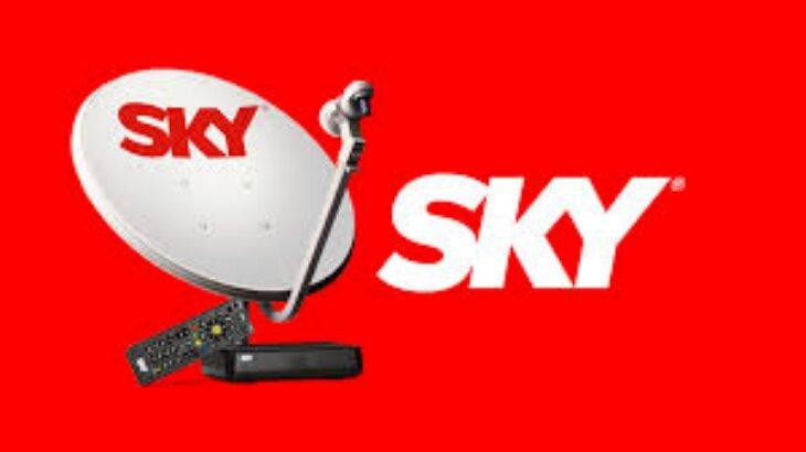 Logo Sky e antena