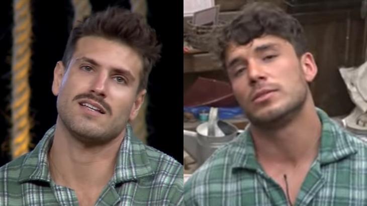 Oitava roça do reality show A Fazenda 2091 foi formada com Guilherme Leão e Lucas Viana.