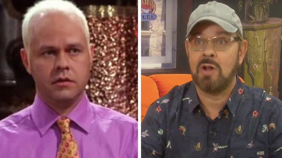 James Michael Tyler antes e depois
