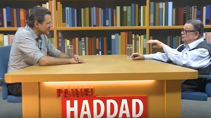Fernando Haddad estreia nova temporada do seu talk show
