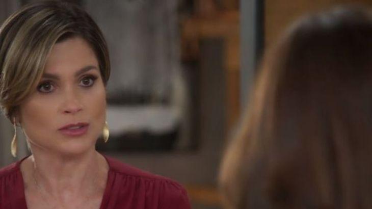 Helena encara Fiona com dúvidas em Salve-se Quem Puder