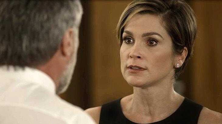 Salve-se Quem Puder: Helena vê Mário, desperta ira de Hugo e é agredida pelo marido