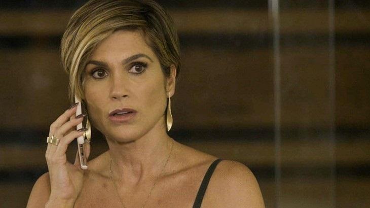 Flávia Alessandra em cena da novela Salve-se Quem Puder, na Globo