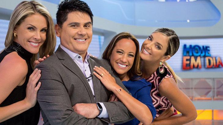 Cesar Filho, Ana Hickmann e Renata Alves