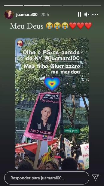 Paulo Gustavo ganha homenagem na Parada Gay de Nova York