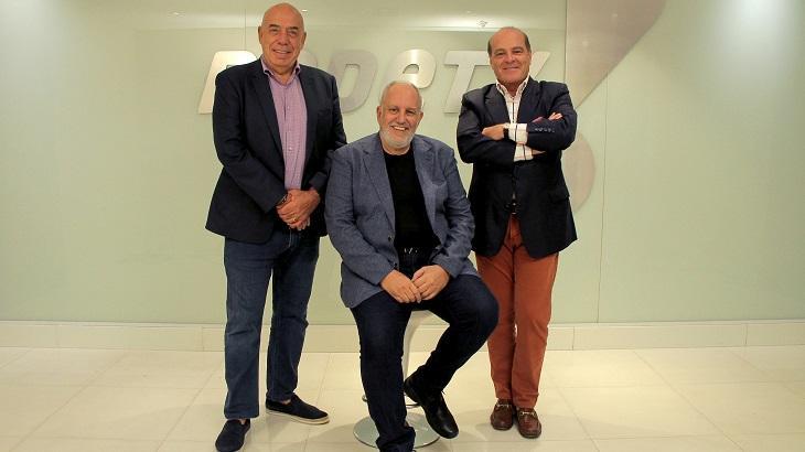 Homero Salles, Amilcare Dallevo Jr e Marcelo de Carvalho