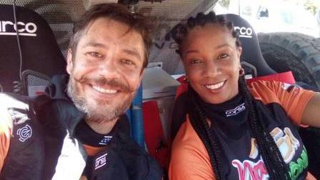 Igor Cotrim e Adriana Lessa