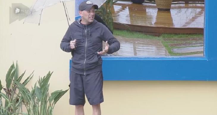 Rafael Ilha na chuva