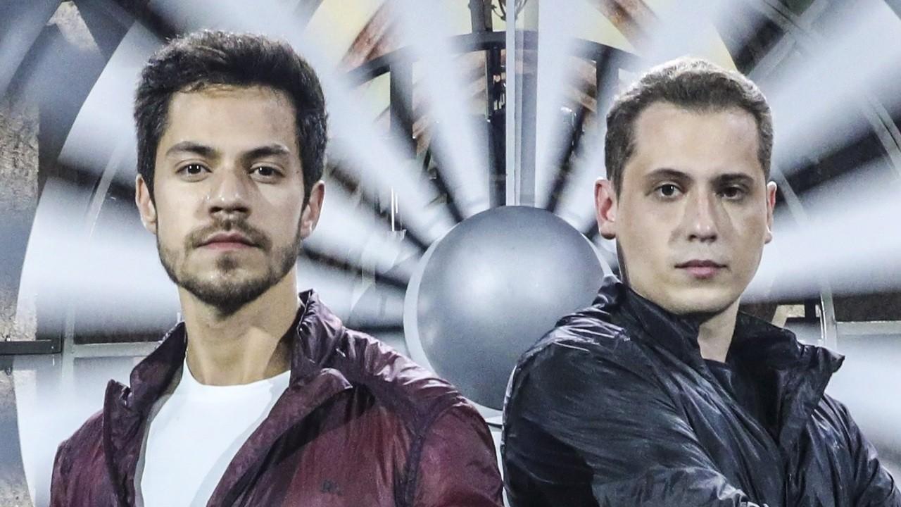 Os ilusionistas Henry Vargas e Klauss Durães estão à frente do novo quadro Ilusões de Risco, no Fantástico