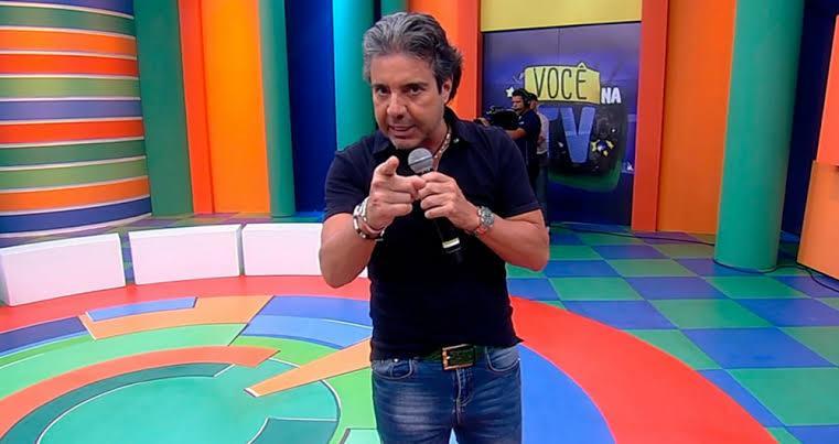 O apresentador João Kléber