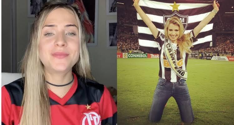 Gabi Martins sofre repúdio após se tornar garota-propaganda do Atlético-MG