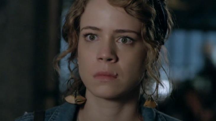 Leandra Leal como Cristina em cena da novela Império, em reprise na Globo