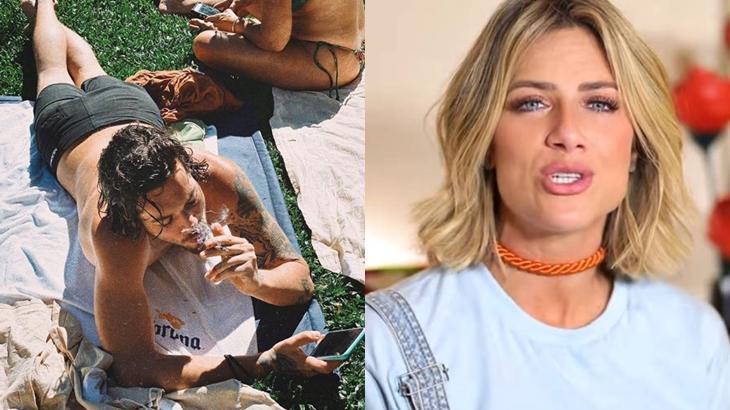 Gian Luca é irmão da youtuber Giovanna Ewbank e está causando polêmica com foto fumando. Saiba os detalhes