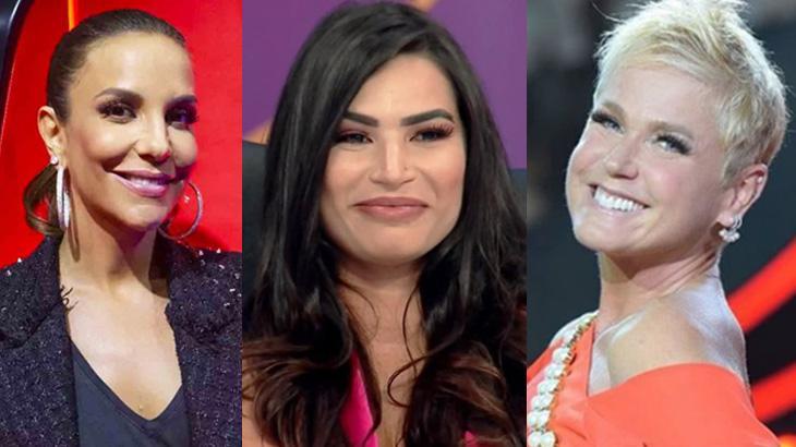Ivete Sangalo, Xuxa Meneghel e Raissa Barbosa