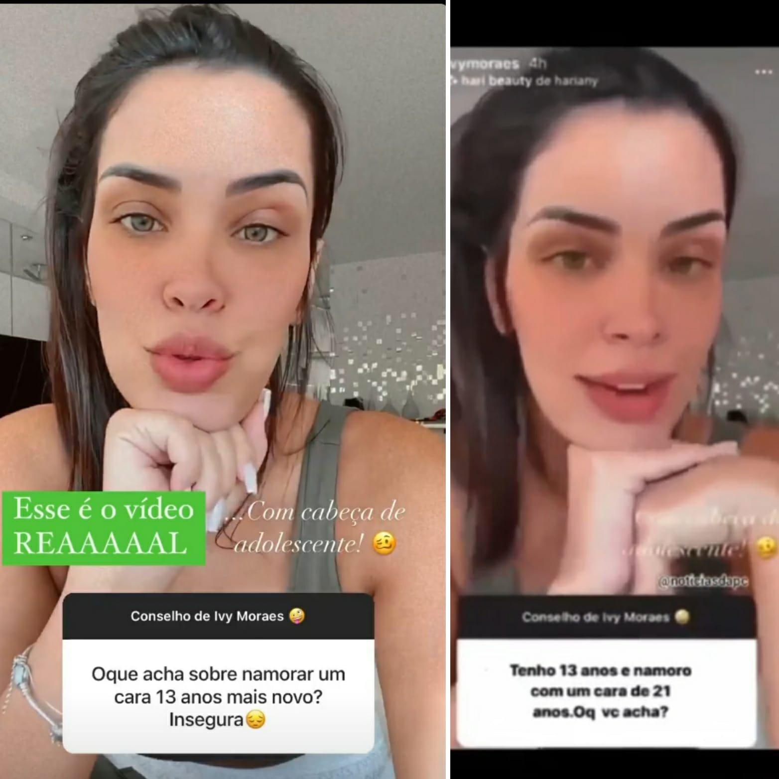 """Ex-BBB Ivy Moraes é vítima de fake news e avisa: \""""Responsáveis vão pagar\"""""""