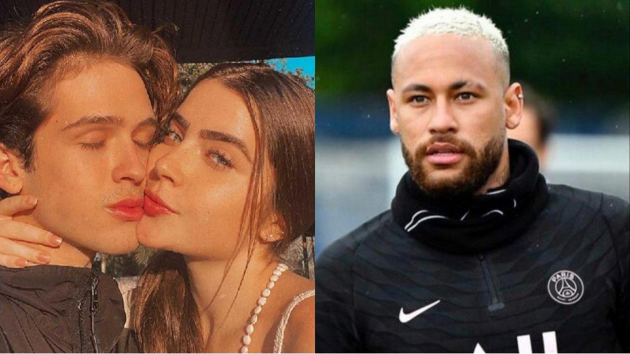 João Guilherme, Jade Picon e Neymar