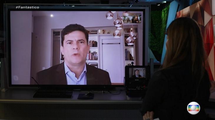 Sérgio Moro no Fantástico