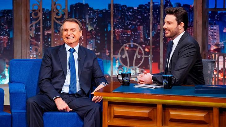 Danilo Gentili entrevistou o presidente Jair Bolsonaro em maio de 2019
