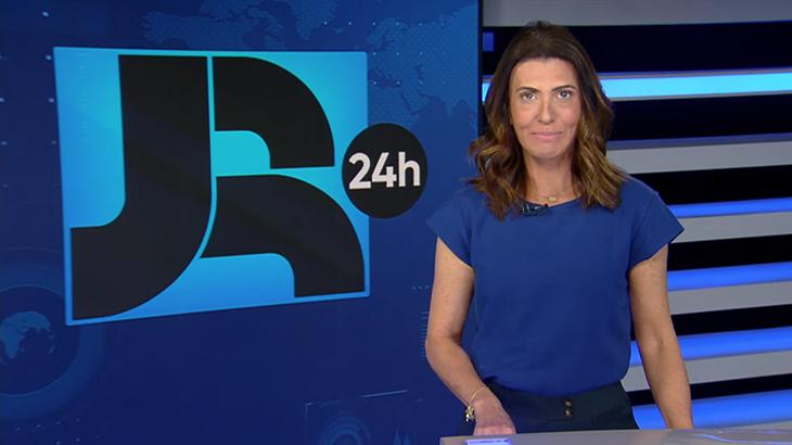 Janine Borba apresenta o JR 24h