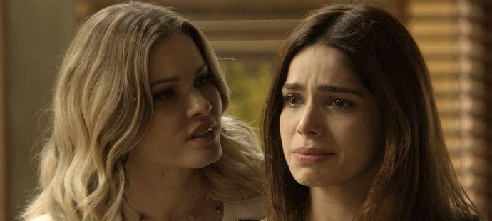 """Haja Coração: Jéssica provoca e leva bofetada de Shirlei: \""""Odeio você!\"""""""