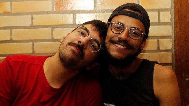 Igor Moreira e João Luiz posados
