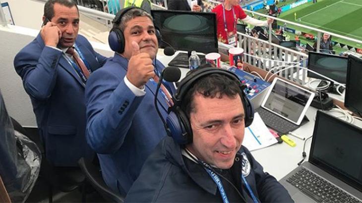 Primeiro jogo da Copa do Mundo rende provocação, confusão e piadas na TV