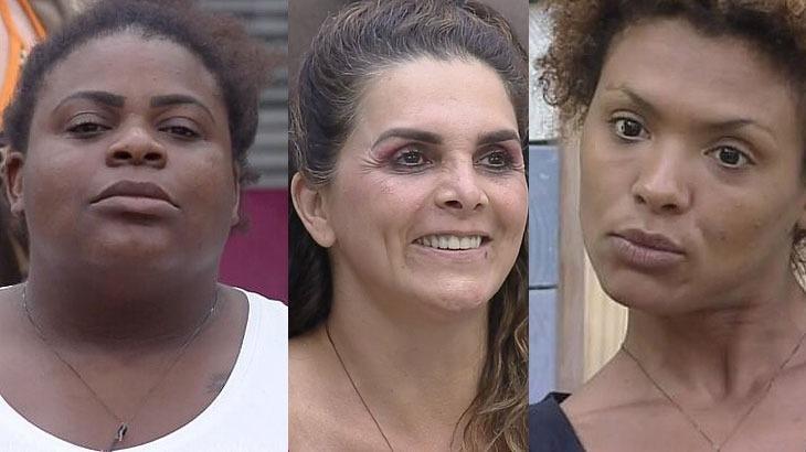 Jojo Todynho, Luiza Ambiel e Lidi Lisboa em momentos em A Fazenda 2020