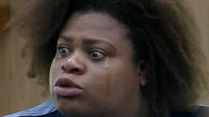 Jojo Todynho chorando em A Fazenda 2020