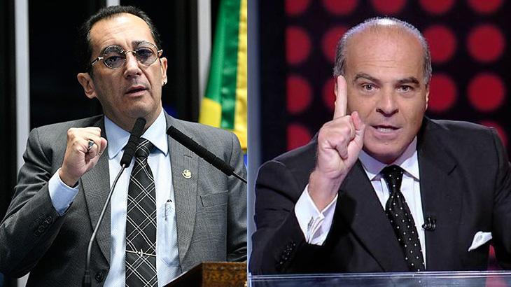 Jorge Kajuru e Marcelo de Carvalho