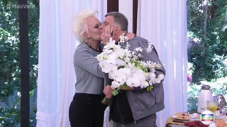 """Ana Maria Braga se emociona com Jorge Fernando no \""""Mais Você\"""" após AVC"""