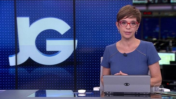 Renata Lo Prete no Jornal da Globo