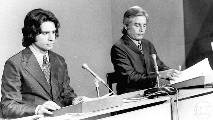 """Relembre outros cenários do \""""Jornal Nacional\"""" ao longo de mais de 45 anos"""