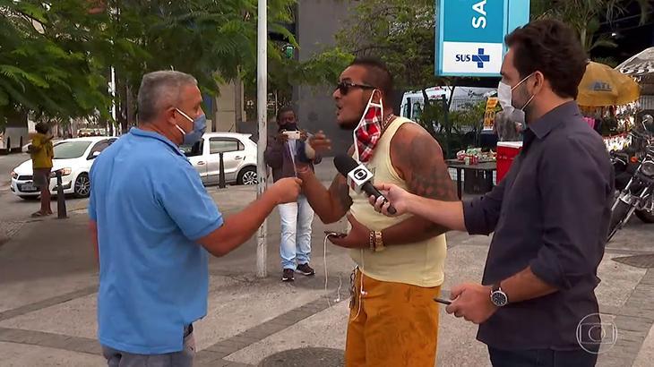 Globo expõe funcionários públicos que atrapalham repórteres