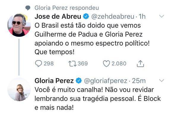 """José de Abreu volta a rebater Lacombe: \""""Uso meu direito de livre expressão\"""""""