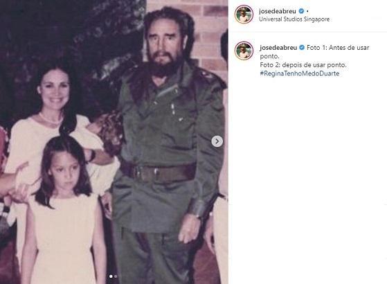 Após convite de Bolsonaro, Regina Duarte é provocada por José de Abreu