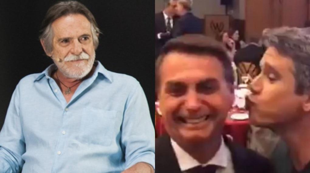 José de Abreu teria encerrado amizade com Márcio Garcia por aproximação com Jair Bolsonaro