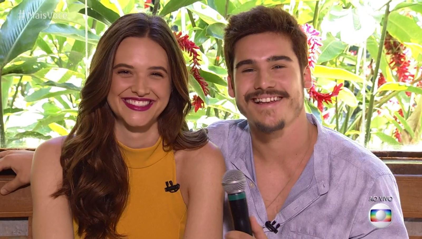 Ana Maria Braga elogia Juliana Paiva e Nicolas Prattes juntos e deixa atores sem graça