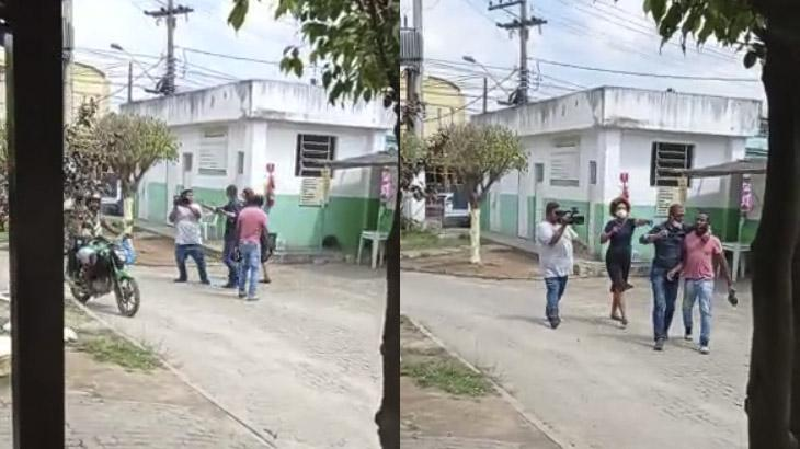 Repórter Julie Alves e seu cinegrafistas são agredidos no Rio de Janeiro